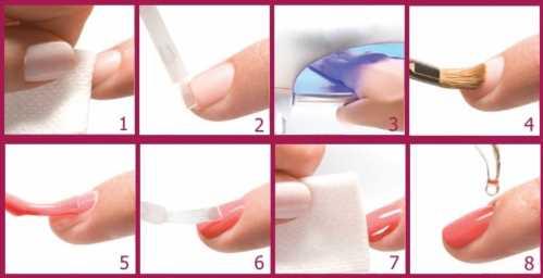 Как покрывать ногти шеллаком в домашних условиях  772