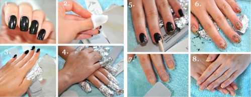 Как сделать на ногтях шеллаком 306